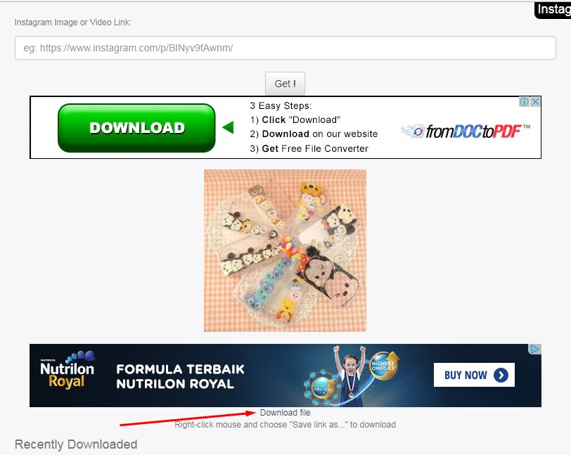 cara download video di instagram lewat pc