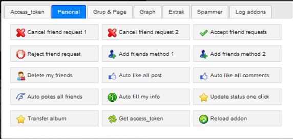 facebook multi tools