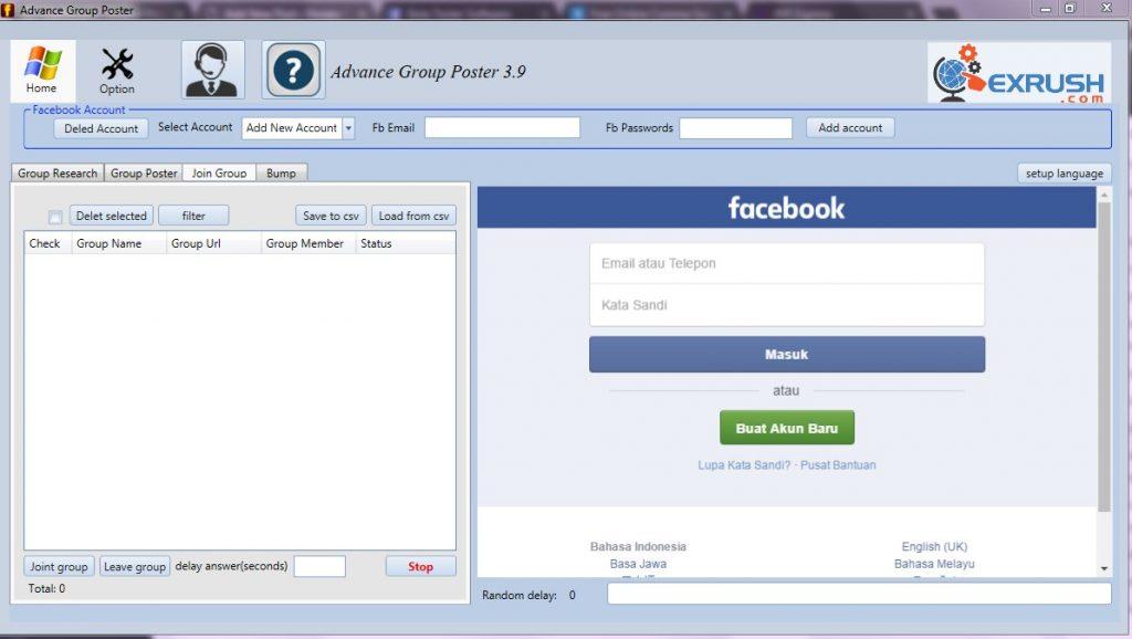 cara promosi otomatis ke ratusan group facebook gratis