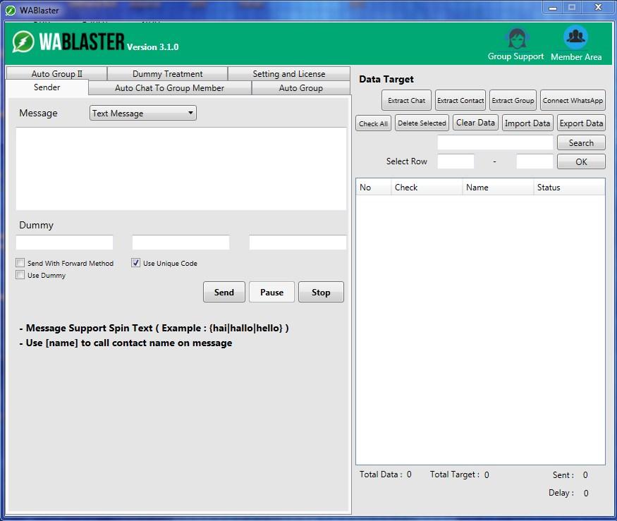 whatsapp blaster software