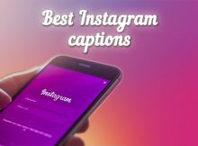 instagram caption