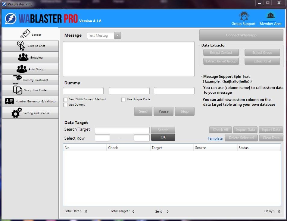 Download Gratis Whatsapp Blaster Full Crack