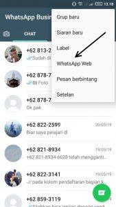 cara simple kirim pesan ke banyak nomor
