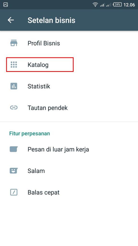 Cara Membuat Katalog di Whatsapp