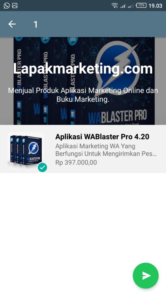 Fitur Katalog di Whatsapp
