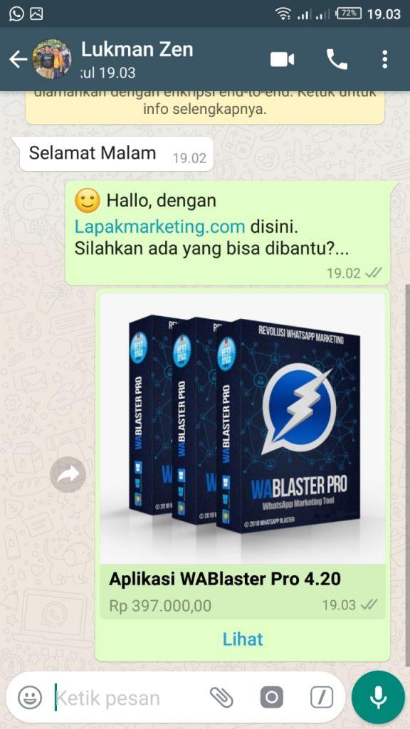 Membuat Katalog Produk di Whatsapp