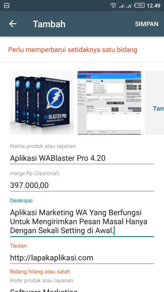 Panduan Membuat Katalog di Whatsapp