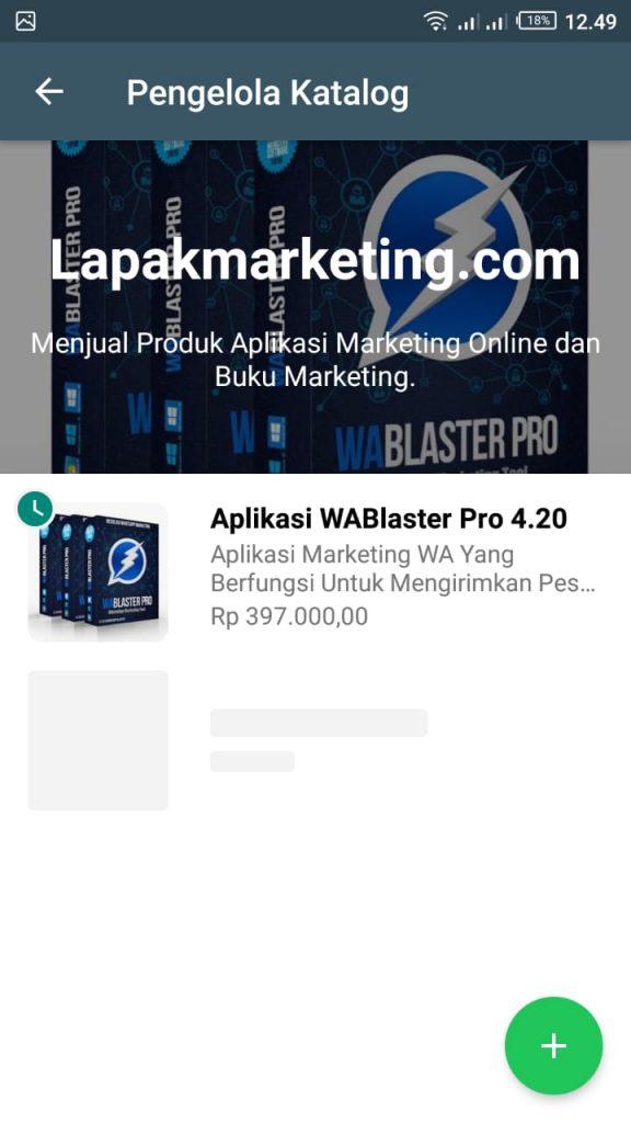 Tatacara Membuat Katalog di Whatsapp