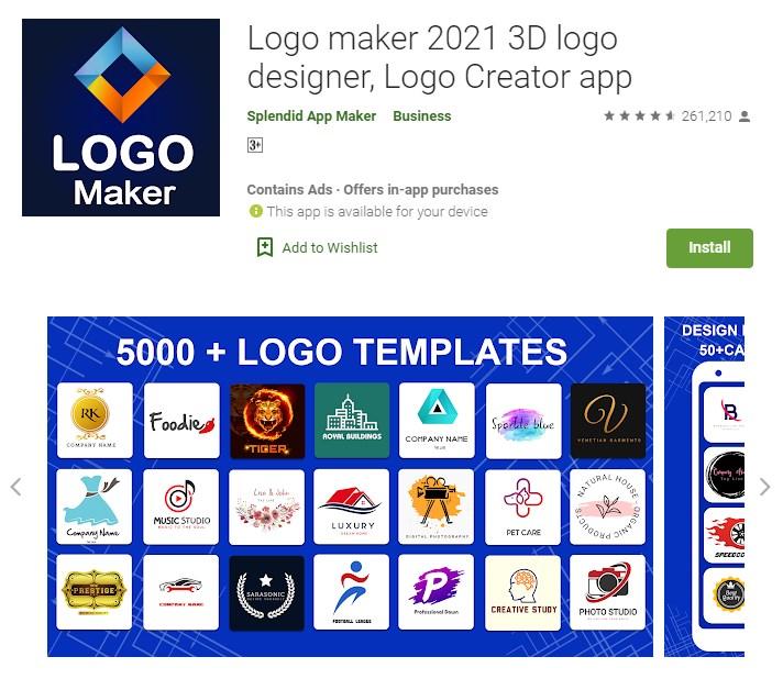 aplikasi pembuat logo di android offline