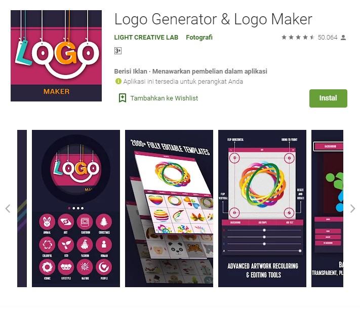 aplikasi pembuat logo gaming