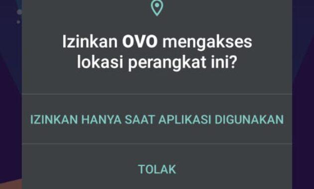 cara daftar di aplikasi ovo