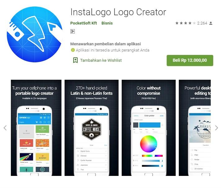 download aplikasi pembuat logo di android